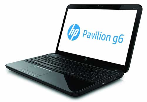 HP Pavilion g6-2218nr left side