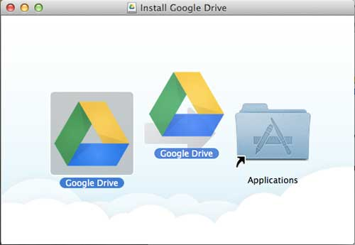 how to install google drive on your mac