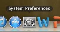 Open the System Preferences menu