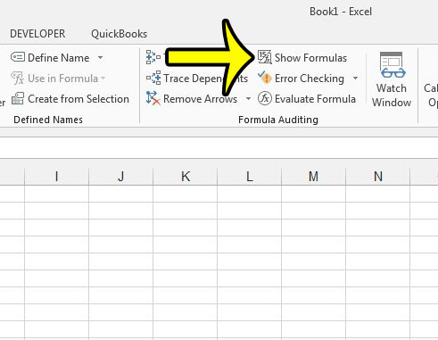 How To Hide Formulas In Excel 2013 Live2tech