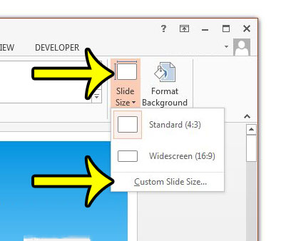 how to change date on powerpoint slides