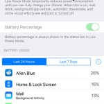How to Reduce Battery Usage in iOS 9