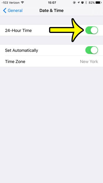 how to use the 24 hour clock on the iphone