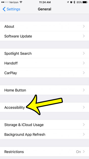 how to turn off reachability on iphone 7
