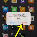 How to Delete iMovie on an iPhone 7