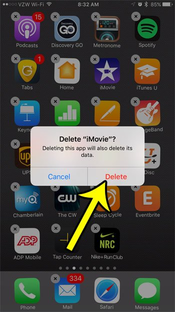 how to find deleted apps on iphone 7