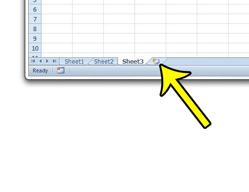 how to add a new worksheet in excel 2010