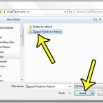 How to Send a Folder in Outlook 2013