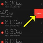 How to Delete an Alarm on an iPhone 7