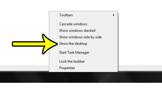 how to hide desktop icons on windows 7