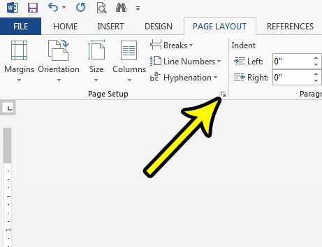 adjust vertical alignment setting in word