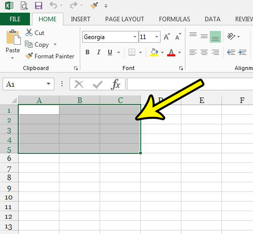 excel 2013 fill effects