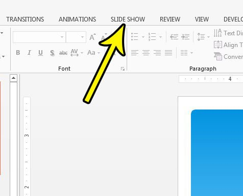 how to disable or enable narrations in powerpoint 2013