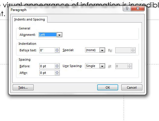 line spacing options powerpoint 2013