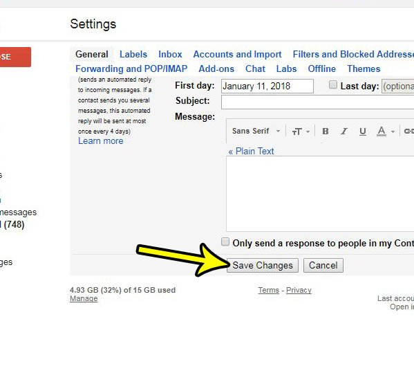how to turn off gmail conversation view