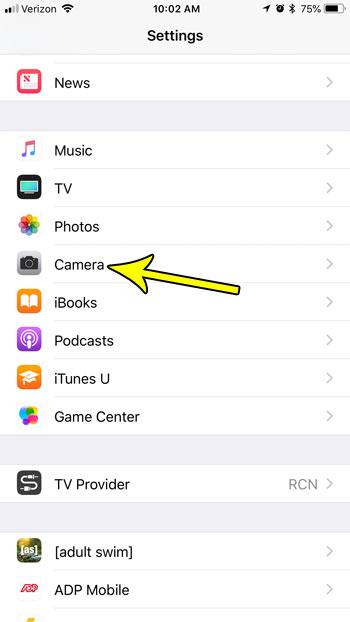 ios 11 iphone camera file types