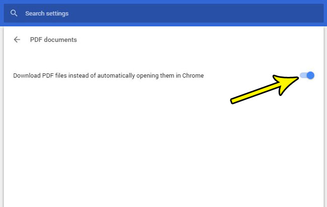 how download pdfs instead of open them in chrome