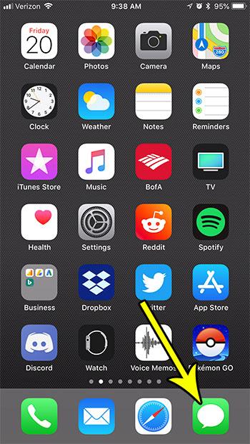 iphone text message hide alerts