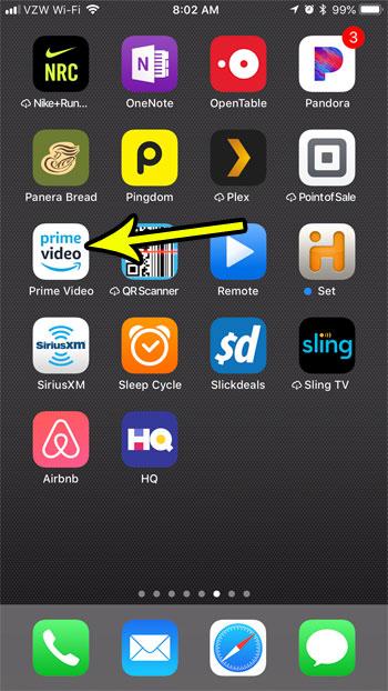 prime video iphone app