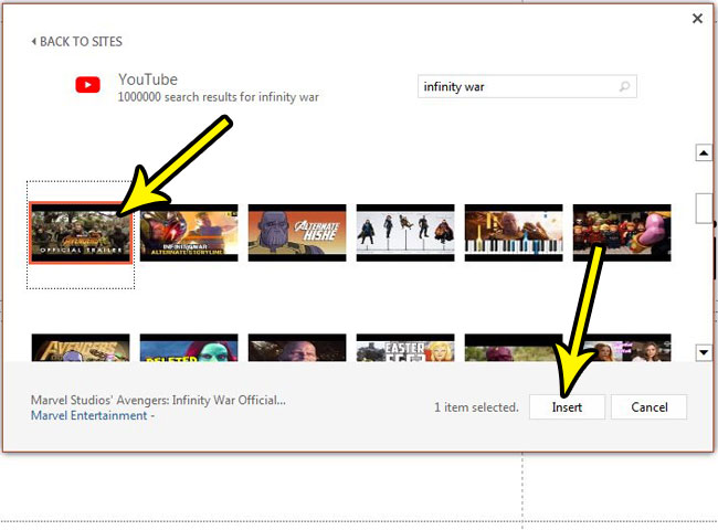 how to embed video in powerpoint 2013