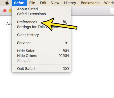 how to clear your history automatically in safari on a mac