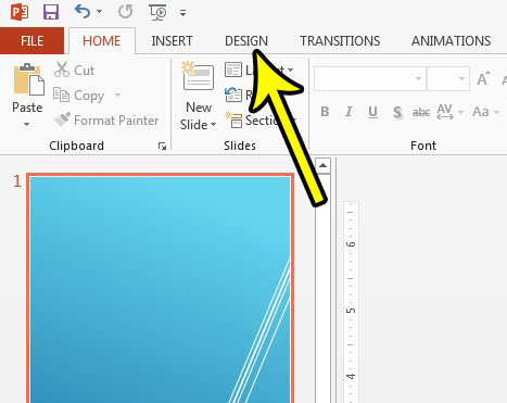 how to hide background graphics in powerpoint 2013