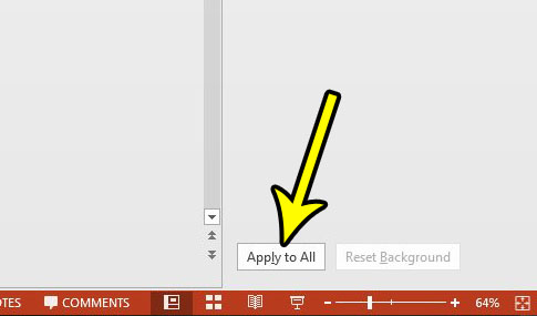remove all background graphics powerpoint