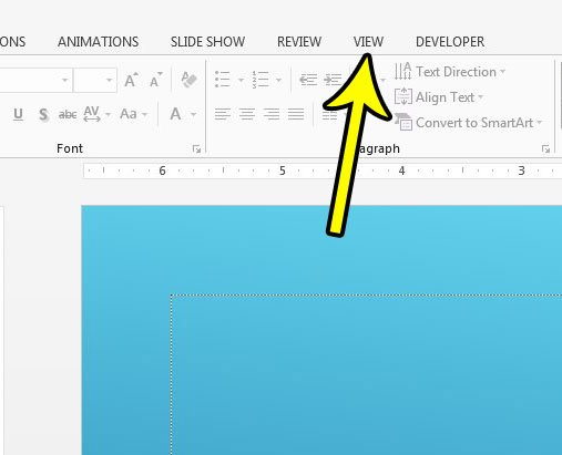 where are speaker notes in powerpoint 2013