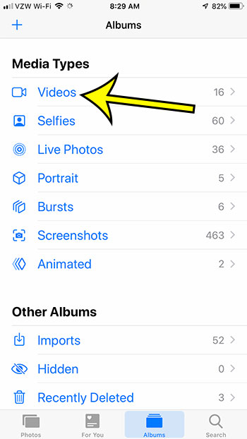 how to view recorded videos on iphone 7