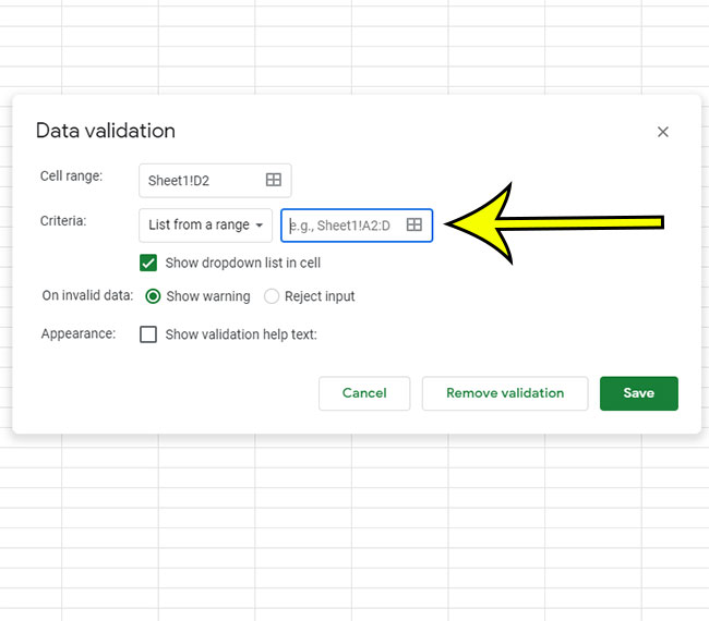 choose how you want to create the dropdown data